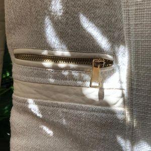H&M Cream/Gold Blazer